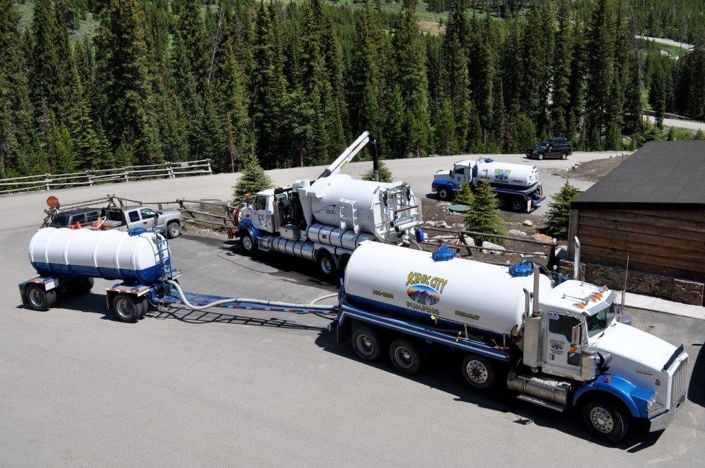 Scenic City Pumping is leading the industry in wastewater management and portables in Bozeman, MT.